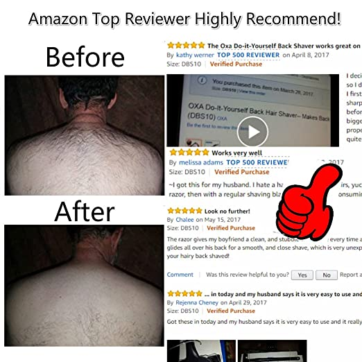 Amazon oxa do it yourself back hair shaver makes back amazon oxa do it yourself back hair shaver makes back grooming easy quick and effective dbs10 beauty solutioingenieria Gallery