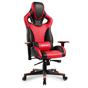 Amazoncom Merax Computer Gaming Chair High Back Racing Style