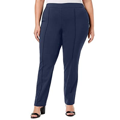 JM Collection RNS SMFRONT PO Pant Black at Women's Clothing store