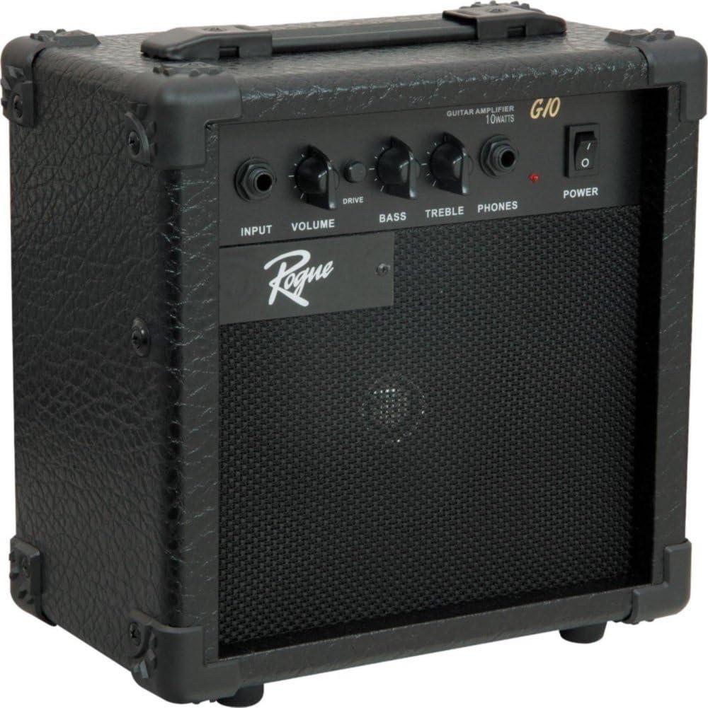 Rogue Rocketeer guitarra eléctrica Pack ráfaga de vino: Amazon.es: Instrumentos musicales