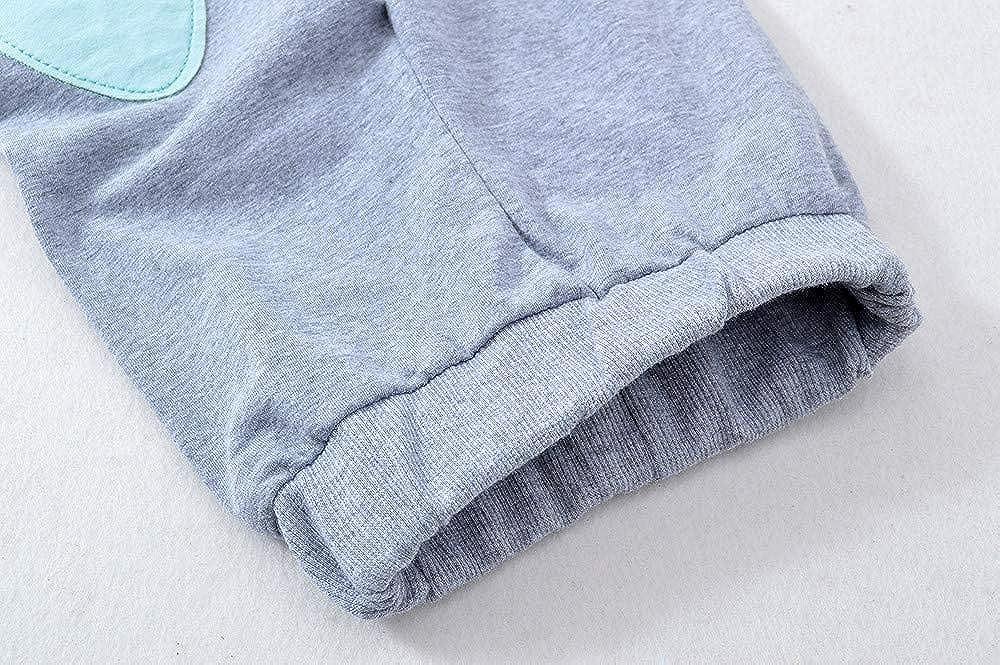 iZHH Autumn Newborn Infant Baby Boy Girl Cute T Shirt Tops and Pants Outfits Set