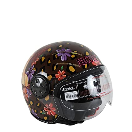 Nicole Lee Exclusive Sunny Print Fashion Helmet Collection (Small)