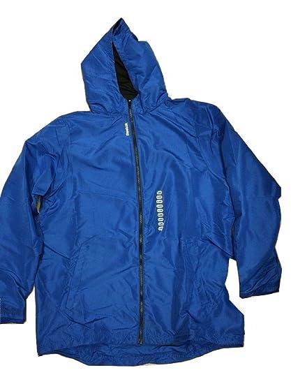 6c8f7f64ac93 Amazon.com  Reebok Mens Hooded Windbreaker Track Jacket X-Large Royal Blue   Cell Phones   Accessories