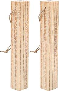 FastUU Fire Starter, Pine Firewood, Heavy Duty Waterproof Reusable Portabke for All Barbeques Lighting