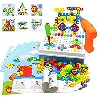 Akokie Juguetes Montessori Puzzles Rompecabezas Bloques Construccion Niños