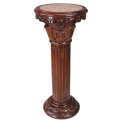furniture toscano pdx pedestal stand plant reviews wayfair design