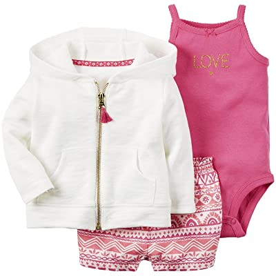 Carter's Baby Girls' 3 Pc Sets 127g123