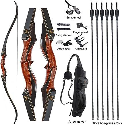 10 Fiberglass Arrows 26 inch for Compound Recurve Sport bows sports archery