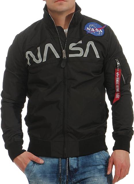 Alpha Industries Herren Jacke NASA: : Bekleidung