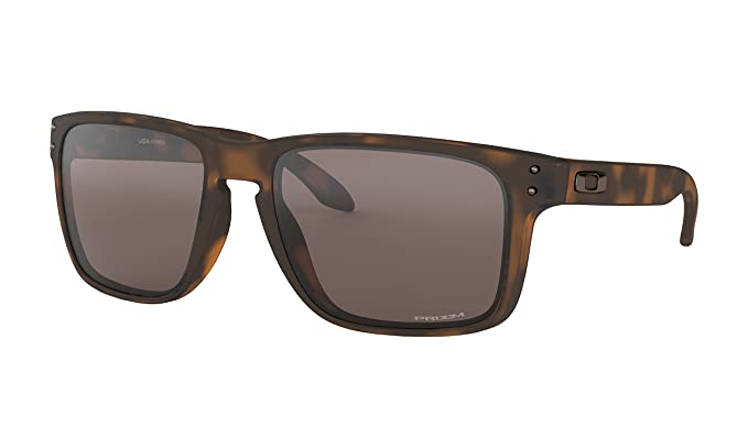 e4925dcf226 Oakley Holbrook XL Sunglasses Matte Brown Tortoise with Prizm Black Iridium  Lens + Sticker