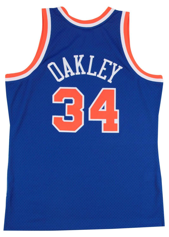 0602f0ad5d0 Amazon.com   New York Knicks Charles Oakley Mitchell   Ness NBA Men s  Hardwood Classic Swingman Jersey   Sports   Outdoors