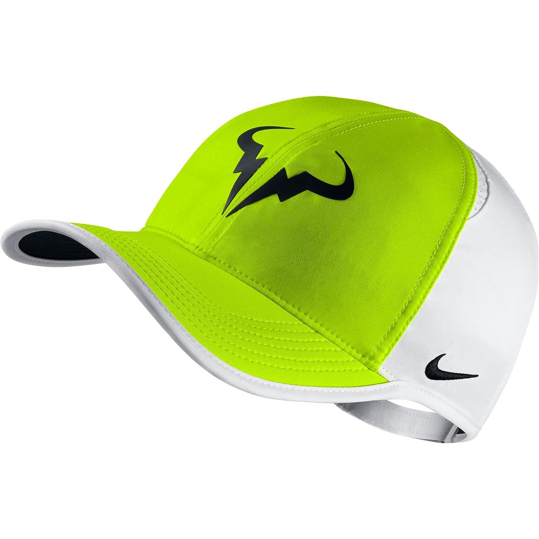 681040eedce ... spain buy nike 715146 702 rafa featherlight ca dri lux tennis cap mens  white online at