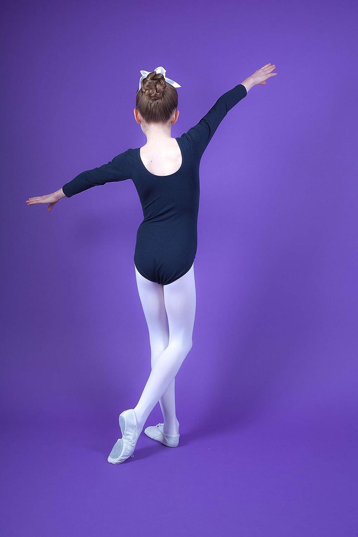 aus Baumwolle Gr/ö/ße 128//134 Ballettbody Ballett Trikot in Marineblau Gr/ö/ße 92-170 Lilly - tanzmuster /® Ballettanzug M/ädchen Langarm