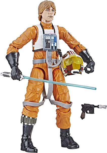 "Star Wars Black Series archive 6/"" Luke Skywalker X-Wing Pilot Figure-WAVE 1"