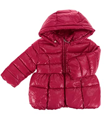 Details zu Kinder Mädchen Winterjacke Parka Steppjacke VENIDISE Echtfell Kapuze blau rot