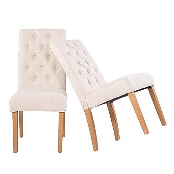 stühle mit knöpfen