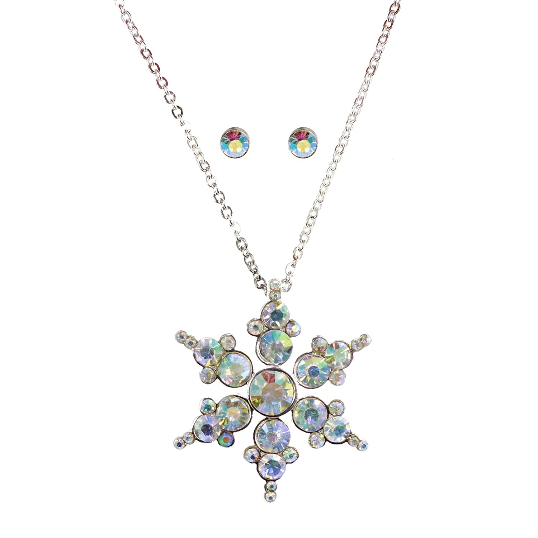 Amazon.com: Macy s Holiday Lane Jewelry Set, Silver-tone ...