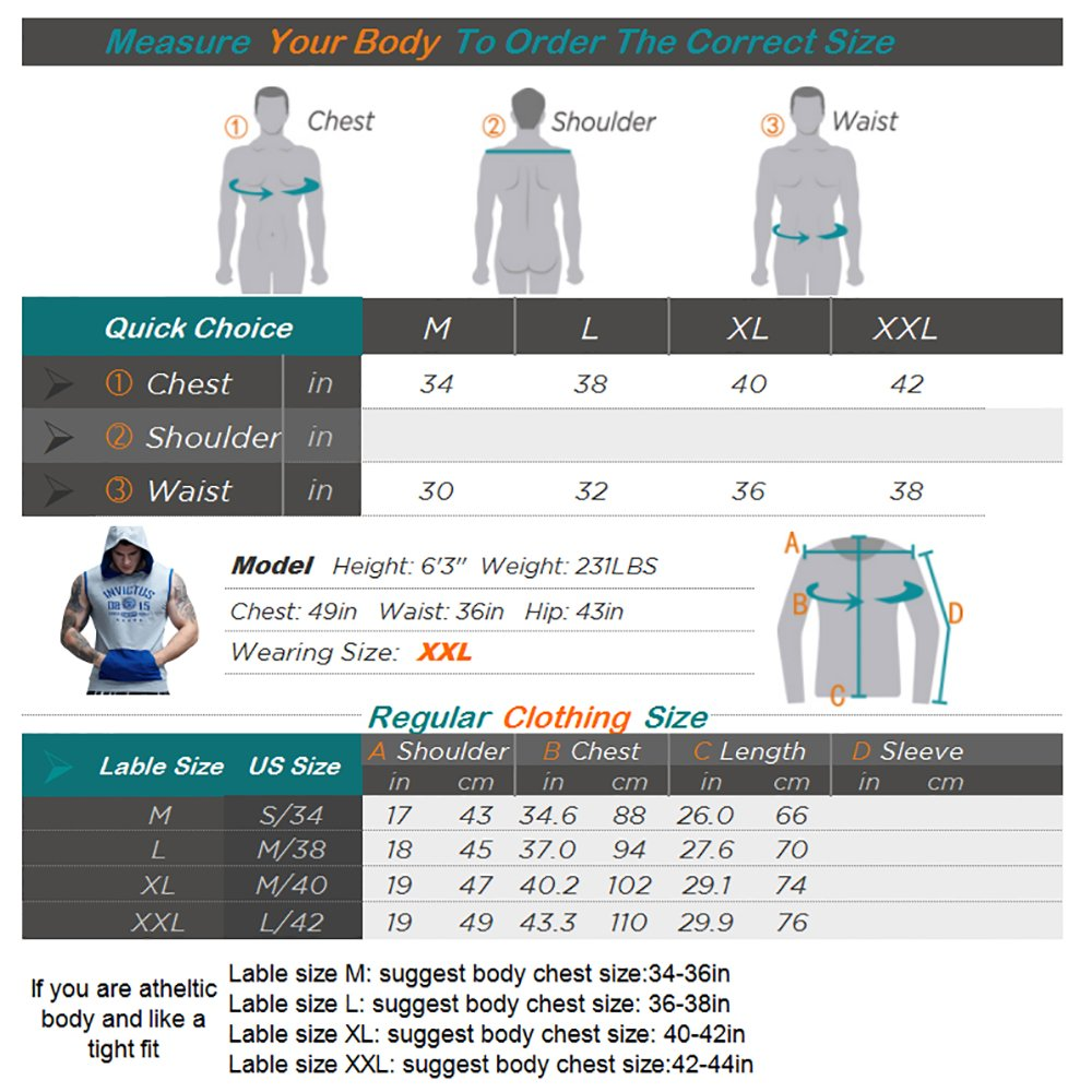 AIMPACT Cotton Sleeveless Hoodie Men Half Zip Fitted Workout Bodybuilding Stringer Gym Athletic Muscle Shirt Tank Top Hoodie