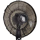 NIKOLay Rose Electric Fan Dust Cover Temperament Adjustable Easy Install Household Items,Coffee Color