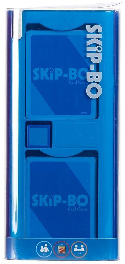 Amazon.com: Mattel Skip-bo – Mod Juego de cartas: Toys & Games