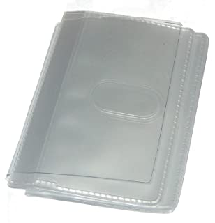 Wallet Insert Sleeves Replacement Plastic Credit Card Purse