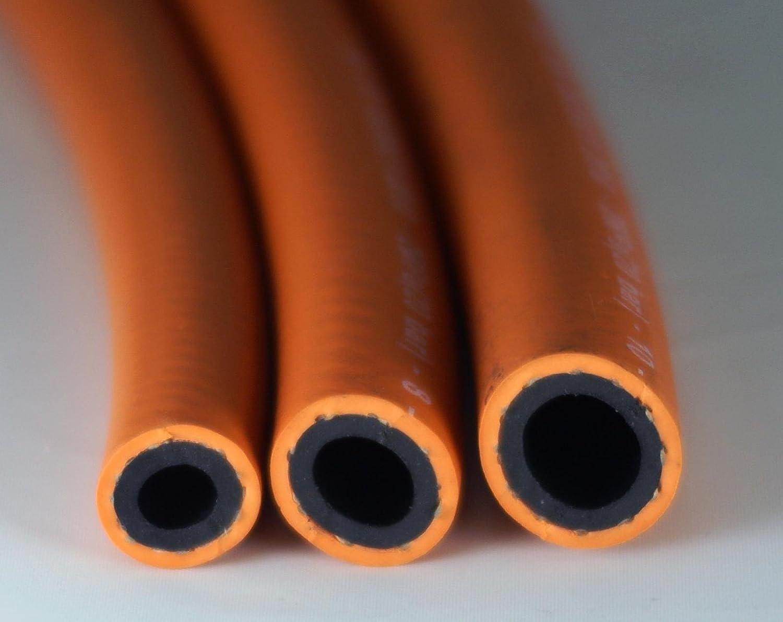 Futuris Propane Orange ISO Tested Gas Hose 10mm Internal Diameter Per Metre