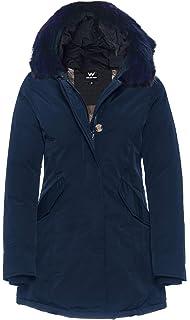 MATOGLA by H4F Damen Arctic Winter Parka Mantel Jacke mit echt Fell ... d959ae22a0