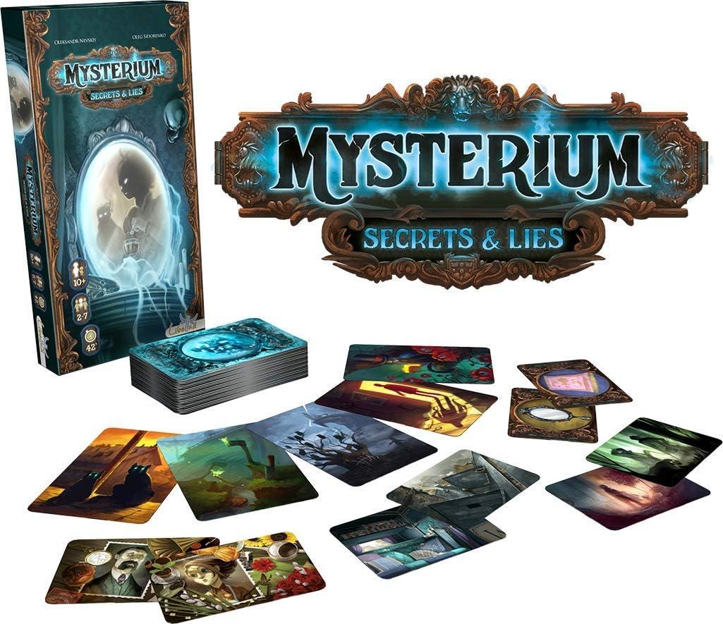 Mysterium MYST03 - Secrets and Lies - Juego de expansión: Amazon ...