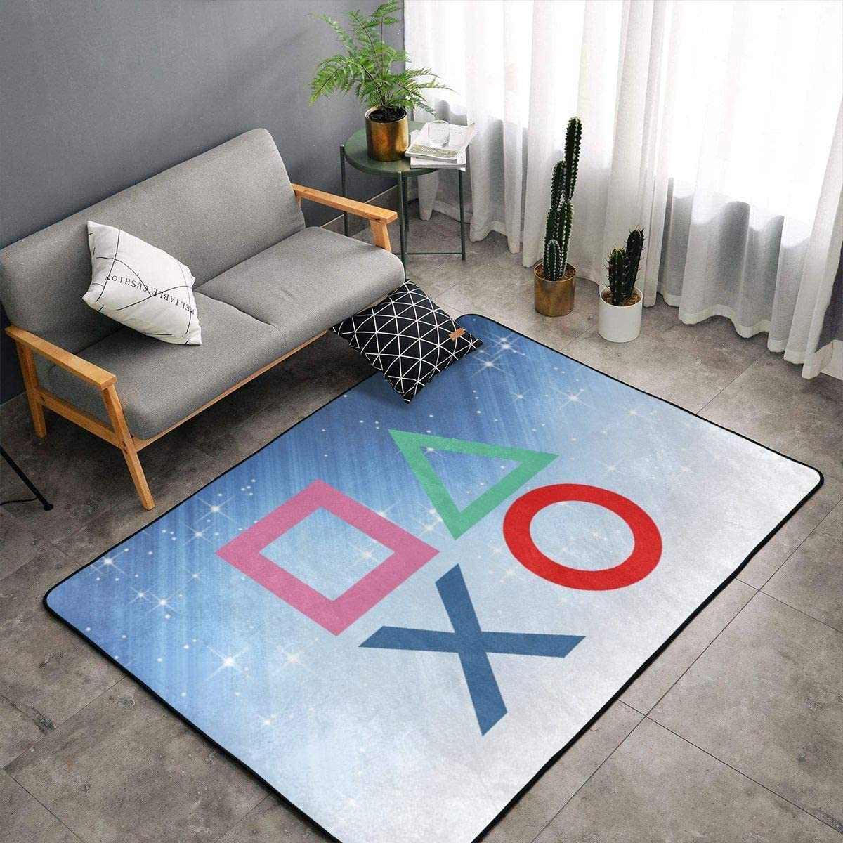 Bedroom Livingroom Sitting Room Big Size Kitchen Rugs Home Decor Playstation Joypad Floor Mat Doormats Fast Dry Toilet Bath Rug Exercise Mat Throw Rugs Carpet Amazon Ca Home Kitchen