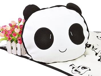 Amazon.com: Panda almohada de peluche con bebé manta de ...