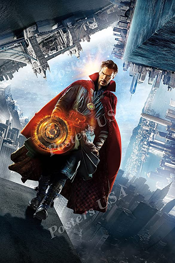 MOV383 Marvel Doctor Strange Textless Movie Poster Glossy Finish Posters USA
