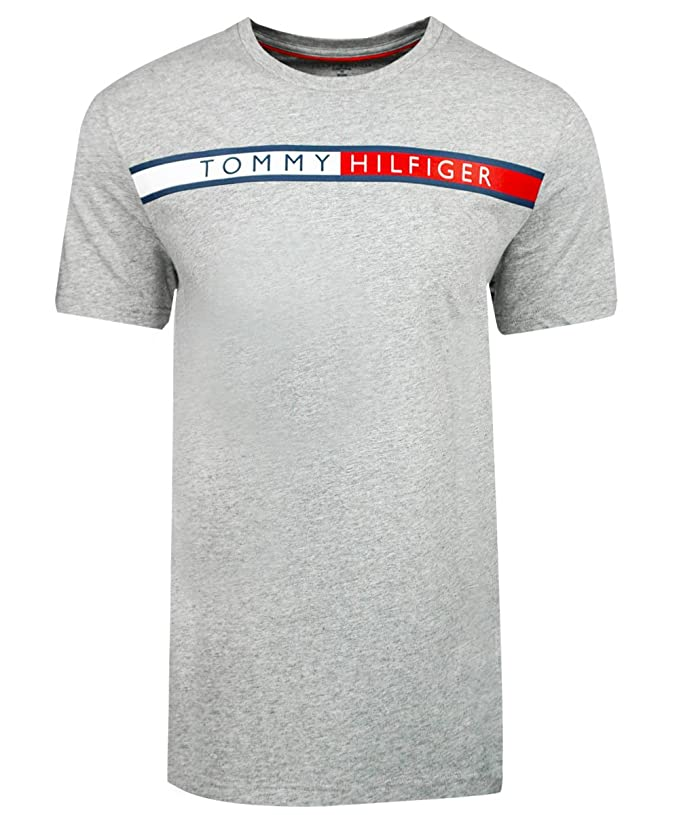 about men 39 s tommy hilfiger short sleeve line graphic t shirt 09t3117. Black Bedroom Furniture Sets. Home Design Ideas