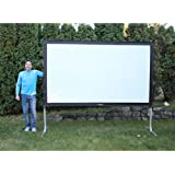 Visual Apex ProjectoScreen132HD Portable Movie Theater Projector Screen 16:9 format