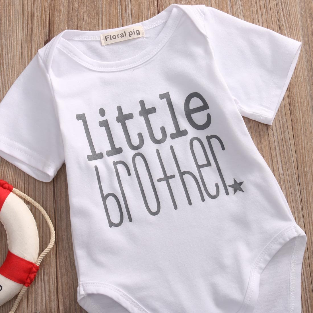 Gaono Toddler//Newborn Boys Shirt Big Brother T-Shirt /& Little Brother Romper /&Little Sister Tee Tops