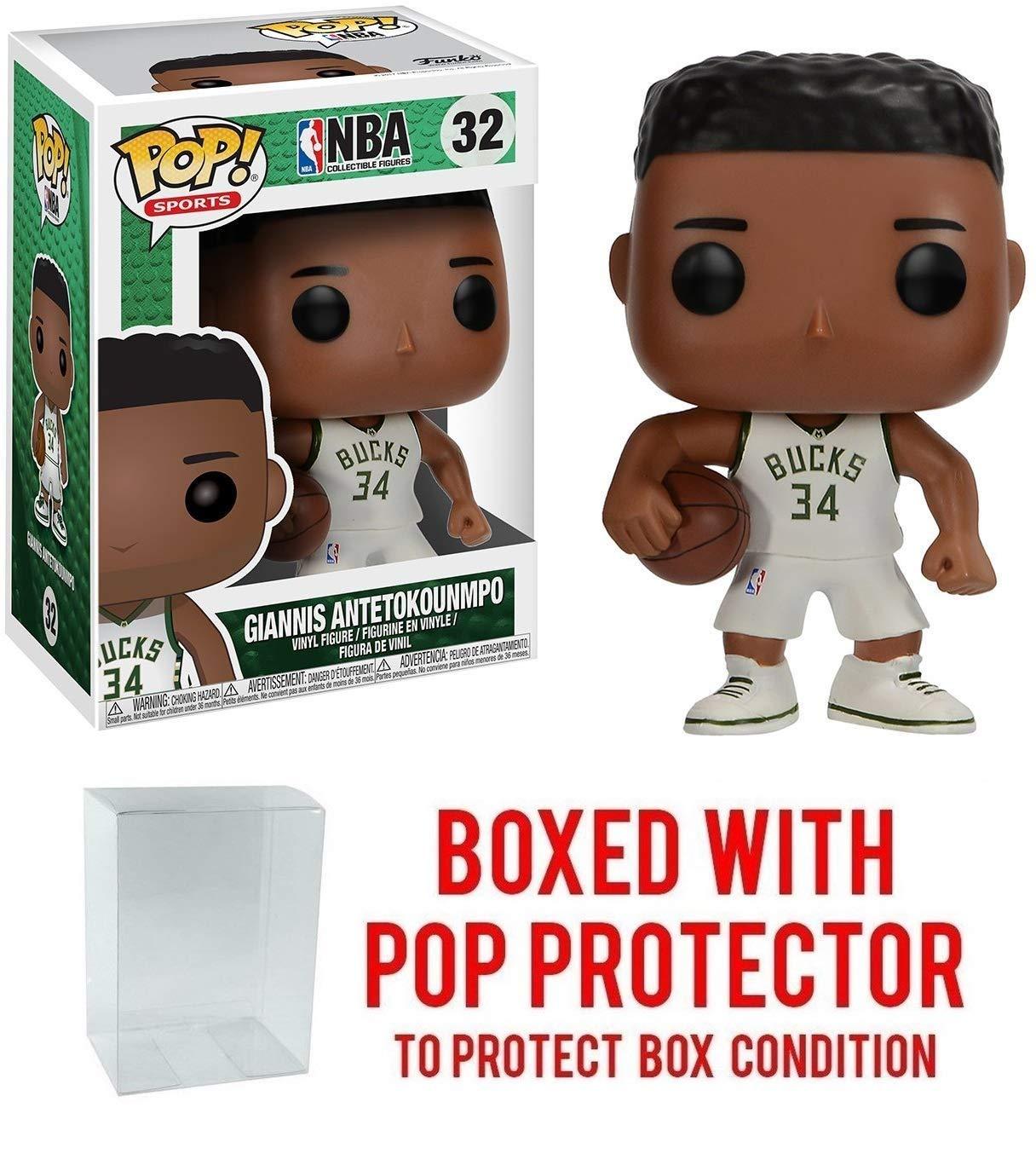 Giannis Antertokounmpo Milwaukee Bucks #32 Pop! Figura de acción ...