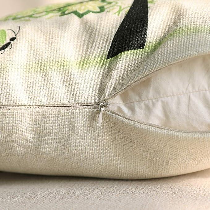 Amazon.com: Miulee – Juego de 4 fundas de almohada ...