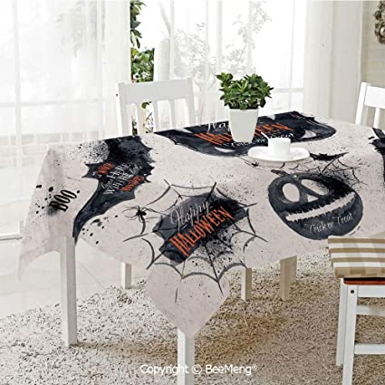 Amazon com: BeeMeng Spring and Easter Dinner Tablecloth,Kitchen