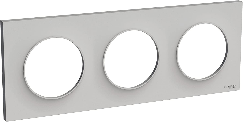 Schneider Electric SC5S52C902W Plaque 1 poste Odace You Evolutive Blanc Transparent