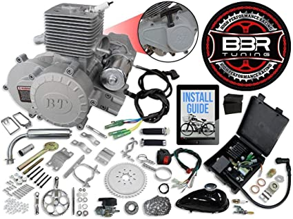 66 C 80 cc 2 tiempos eléctrico Start arranque/embrague centrífugo ...