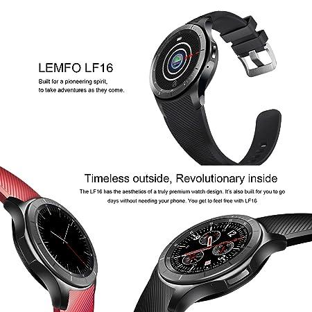 Amazon.com: LEMFO Reloj Inteligente Teléfono Celular Android ...