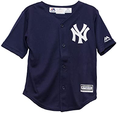 timeless design c23d0 6c880 Majestic Toddlers MLB New York Yankees Navy Blue Jersey