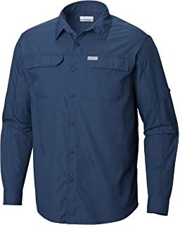 3b6447ea513 Columbia Men's Silver Ridge 2.0 Long Sleeve Shirt, UV Sun Protection,  Moisture Wicking Fabric