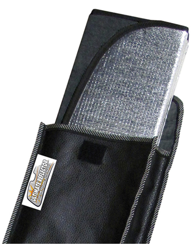 Intro-Tech Automotive MD-67 Custom Fit Windshield Sunshade Custom Fit Sunshade Silver Custom Fit Windshield Sunshade