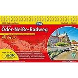 ADFC-Radreiseführer Oder-Neiße-Radweg 1:75.000 praktische Spiralbindung, reiß- und wetterfest, GPS-Tracks Download: Von der Neiße-Quelle bis zur Ostsee