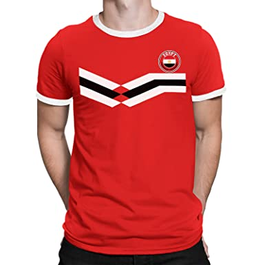 Egypt Mens T-Shirt World Cup 2018 Football Retro  Amazon.co.uk  Clothing 8b4a297da