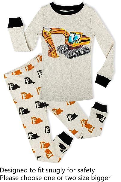 8a44338fb445 Phoebe Cat Truck Boys Pajamas Toddler Sleepwear Clothes T Shirt ...