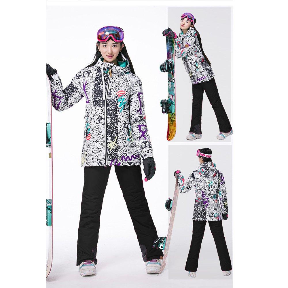 c66d85dd577f WONNY Women Ski Jacket Snow Pants High Technology Skiing Clothing ...