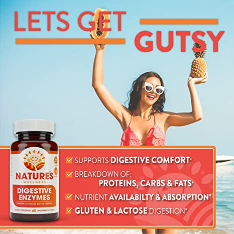 Amazon.com: Digestive Enzymes Completo - Avanzado Suplemento ...
