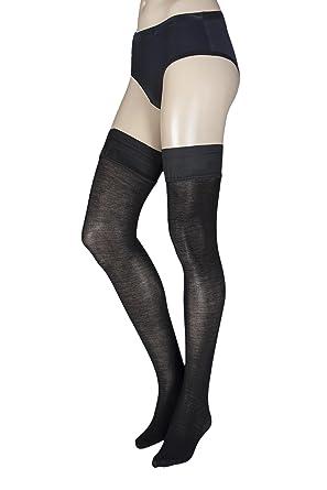 78fa5a30a Trasparenze Jennifer Wool Hold Ups  Amazon.co.uk  Clothing