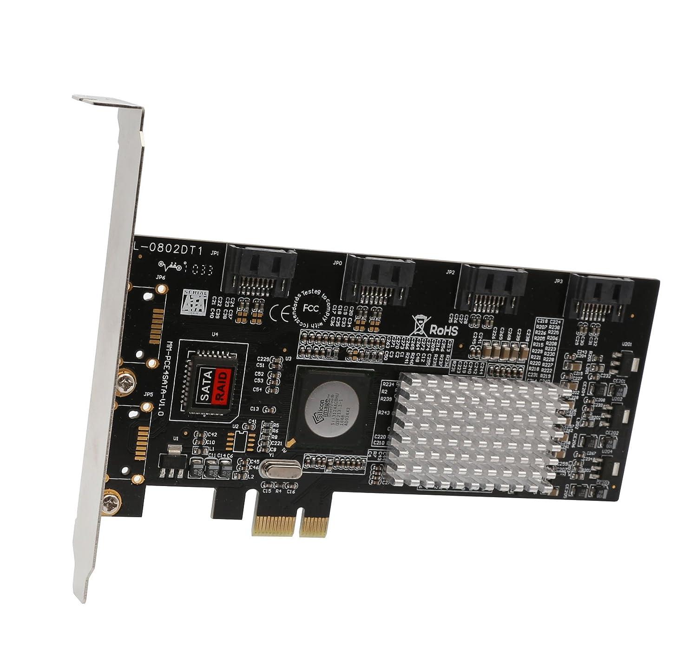 Syba PCI Express SATA II 4 x Ports RAID Controller Card SY-PEX40008